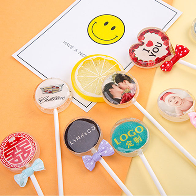 New edible film for photo sugar, starry lollipop